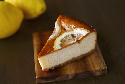 【季節限定】はちみつレモンのベイクドチーズケーキ