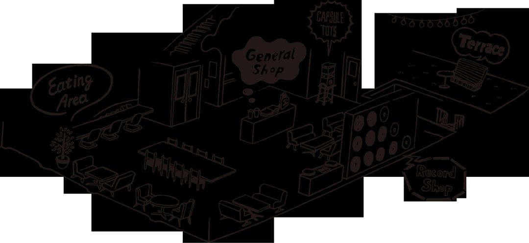 ニューラフレア 2階フロアマップ